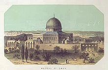 Sketches of Palestine - Journey in Eretz Israel - London, 1868 - Dedication by the Author