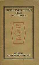 Franz Kafka - Five Books - First Editions
