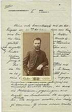 Collection of Documents from the Estate of the First JNF Chairman Yona (Johann) Kremenezky