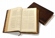 Benjamin Kennicott - a Critical Edition of the Bible - Oxford, 1776-1780