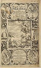Thomas Fuller - A Pisgah-Sight of Palestine - London, 1650 - Engravings