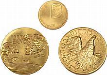 Three Gold Medals - Pilgrims / El-Al / Herzl, 1960-1977