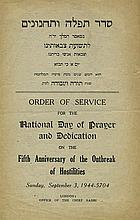 Prayer Booklets for the Victory of the British Army in World War II, 1940-1945