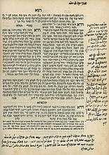 Sefer HaZohar - Jerusalem, 1844-1845 - Two Volumes - Kabbalistic Glosses