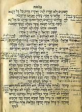 Two Machzorim for the High Holy Days - Venice, 1736 / Constantinople, 1768 - Kabbalistic Glosses and Handwritten Completions