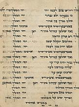 Manuscript - Ladino Piyyutim - 19th Century