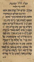 Tikkun Leil Shavuot - Two Manuscripts - Yemen