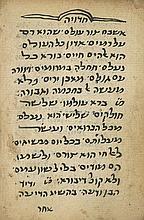 Manuscript, Piyyutim and Pizmonim - Yemen