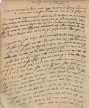Manuscript, Homiletics for Festivals and Shabbat - Unidentified Author - Lithuanian Torah Sage, 19th Century - With Mention of Rabbi Yisrael of Salant