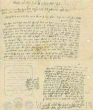 Letters by the Warsaw Tsaddik - Rabbi Chaim Naftali Zilberberg
