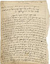Manuscript - Rabbi Leib Shalom Av Beit Din of Kupiškis (Kupishok)