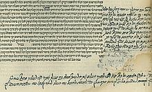 Rif on Zra'im-Mo'ed, Venice 1552 - Important Glosses in Oriental Handwriting