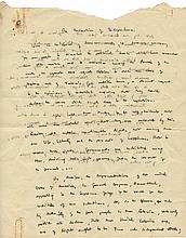 First Drafts of the Israeli Declaration of Independence – Written by Lawyer Mordechai Beham