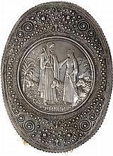 A Brush with a Silver Relief and Filigree Ornamentations –