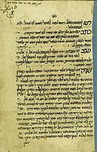 Manuscript - Machzor for Rosh Hashana and Yom Kippur - North Africa, 19th Century
