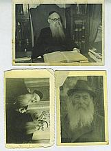 Collection of Photographs - Rabbis / Photographed Cards (New Year, Wedding Invitation) - Georgia
