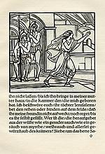 The Song of Songs - Woodcuts by Ludwig von Hofmann - Berlin, 1921