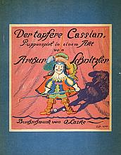 Der Tapfere Cassian - Play by Arthur Schnitzler - Vienna-Leipzig, 1922 - Signed and Numbered Copy