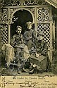 Herzl's Study / Herzl's Children - Two Postcards