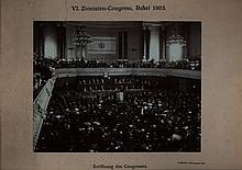 Photograph of Herzl's Speech in the Sixth Zionist Congress - Basel, 1903