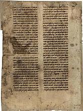 Handwritten Leaf - Composition on Medicine - Spain, 15th Century