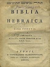 Bible - Oxford, 1750