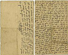 Collection of Letters and Handwritten Torah Novellae - Polish Rabbis