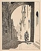 Ephraim Moshe Lilien - Via Dolorosa