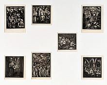 Joseph Budko - Seven Woodcuts