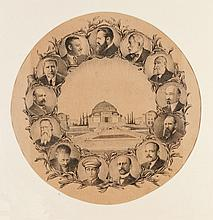 Souvenir Poster - Inauguration of the Hebrew University, 1925
