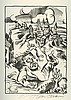 Ludwig Meidner – Septemberschrei – Fourteen Lithographs – Signed and Numbered Edition – Berlin, 1920, Ludwig Meidner, $1,800