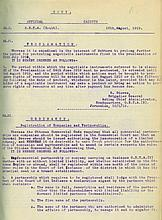 Official Gazette of the Government of Palestine – Four Volumes, 1919-1924 – English