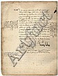 Holy Manuscript of Rabbi Yishaya HaLevi Horowitz, Author of