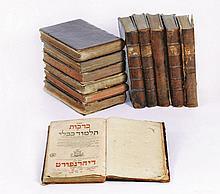 Babylonian Talmud - Dyhernfurth, 1800-1804 - Complete Set