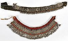 Two Pieces of Jewelry - Yemen, Early 20th Century