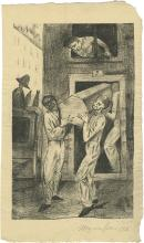 Magnus Zeller - Signed Lithographs Illustrating Poems by Arnold Zweig - Frankfurt am Main, 1920