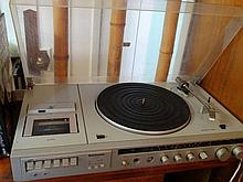 An old Panasonic music system.