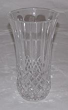 Old cut glass vase.