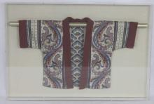 Antique Asian Framed Robe
