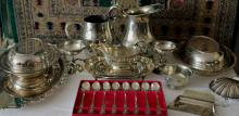 Assorted Silver Plate Serving Articles