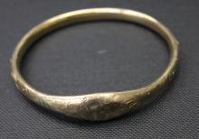 Antique 10K Gold Bracelet Cuff