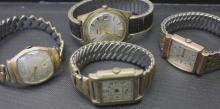 Four Vintage Men's Watches