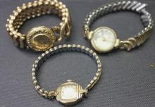 3 Antique Ladies Dinner Watches