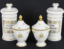 Four Limoges Porcelain Items