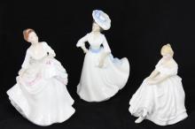 Three 1981 Royal Doulton Porcelain Figures