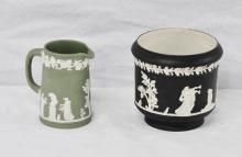 Two Wedgewood Porcelain Articles