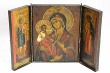 Russian Icon Triptych