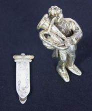 Sterling Silver Miniature Statue & Money Clip