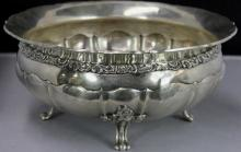 Antique Contintental Silver Bowl