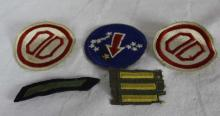 Collection of Five American Military Badges